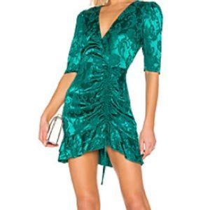 Majorelle green dress